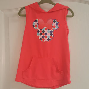 Disney Pink Minnie Mouse Sparkle Hooded Tunic